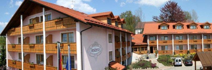Wellnesshotel Aktiv Residence in St. Oswald Hausansicht