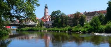 All inclusive in Bayern Stadtansicht Roding Regental
