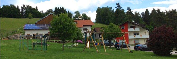 Aulingerhof Bayerischer Wald Bauernhof bei Kirchberg