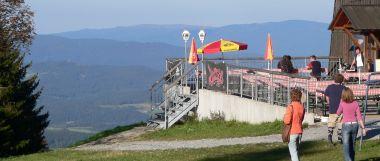 Berggasthof im Bayerischen Wald am Gaiskopf