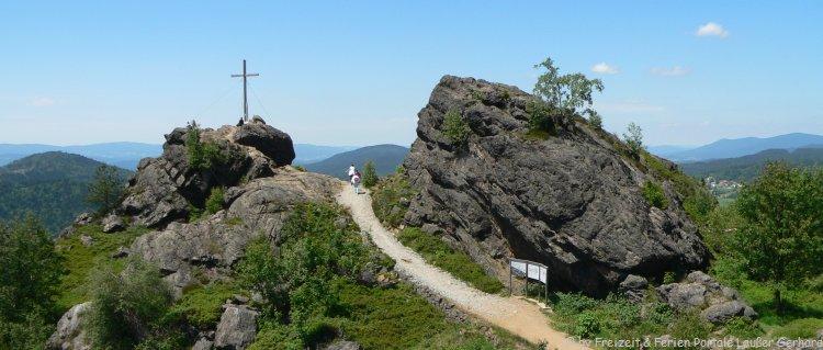 Wandern Bayerischer Wald Silberberg Bodenmais