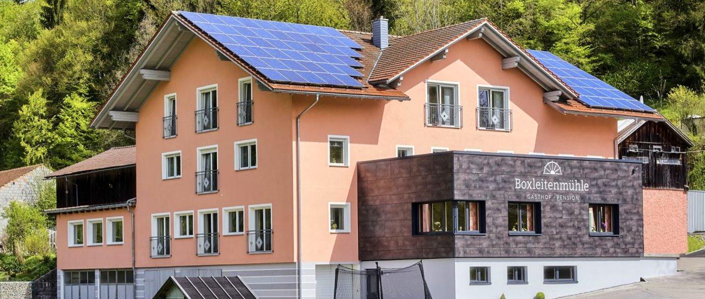 Gasthof Boxleitenmühle für Familien und Motorradurlaub