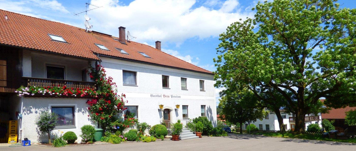 Gasthof Pension und Bauernhof Breu bei Cham mit Halbpension