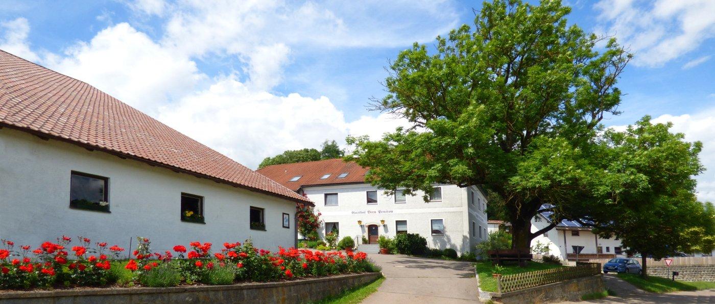 Gasthaus Pension Breu in Löwendorf – Kontakt