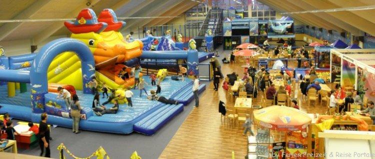 Indoorspielplatz in Bayern Fun Park Tobiwelt in Cham im Bayerischen Wald