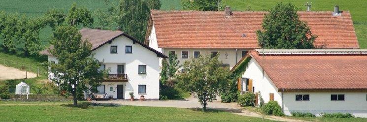 Ferienhaus am Bauernhof Bayerischer Wald Hofansicht