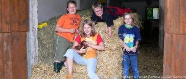 Bayerischer Wald Familienbauernhof für Kinder in Bayern