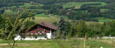 Urlaub im Ferienhaus in Bayern Landschaft