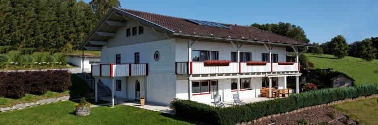 Bayerischer Wald Ferienhaus bis 14 Personen Ansicht