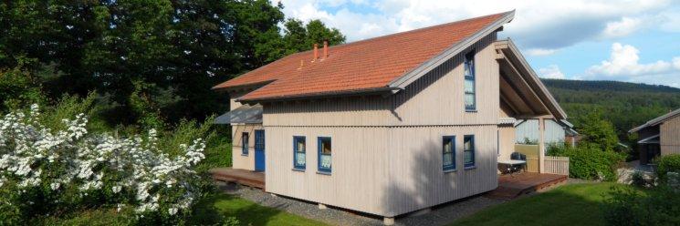 Feriendorf Bayerischer Wald Ferienhaus mit Hund erlaubt Ansicht