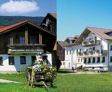 Forellenpension Brunner in Achslach Fewo mit Sauna