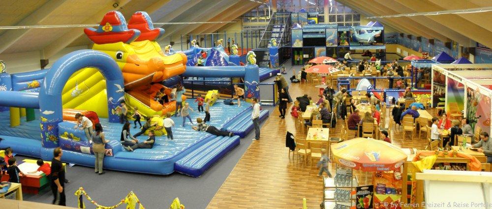 Ausflugsziele in Bayern bei schlechtem Wetter - Indoor Freizeitparks der Tipp bei Regenwetter