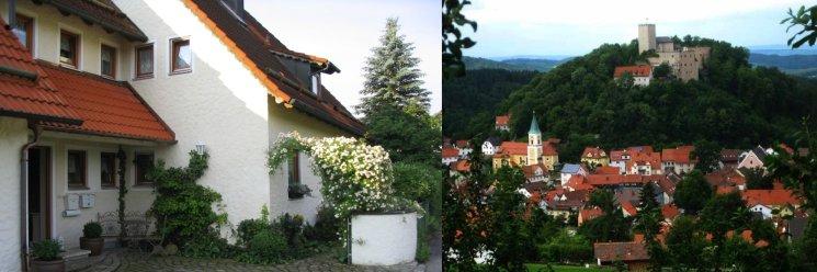Ferienwohnung am Goldsteig in Falkenstein Hausansicht