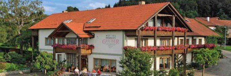 Ansicht vom Landhotel Gruber in Herzogau bei Waldmünchen