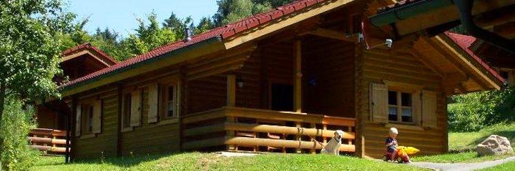 Blockhaus Urlaub Holzhaus zum mieten Ansicht