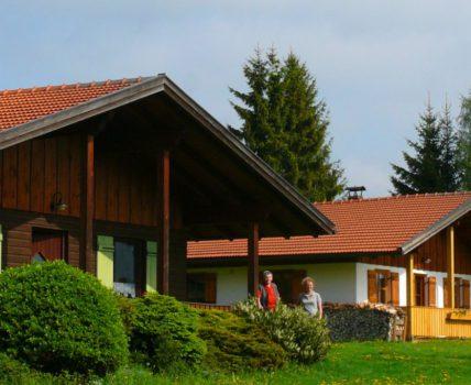 Ferienhütten für Urlaub mit Hund am Hirschhof Meier