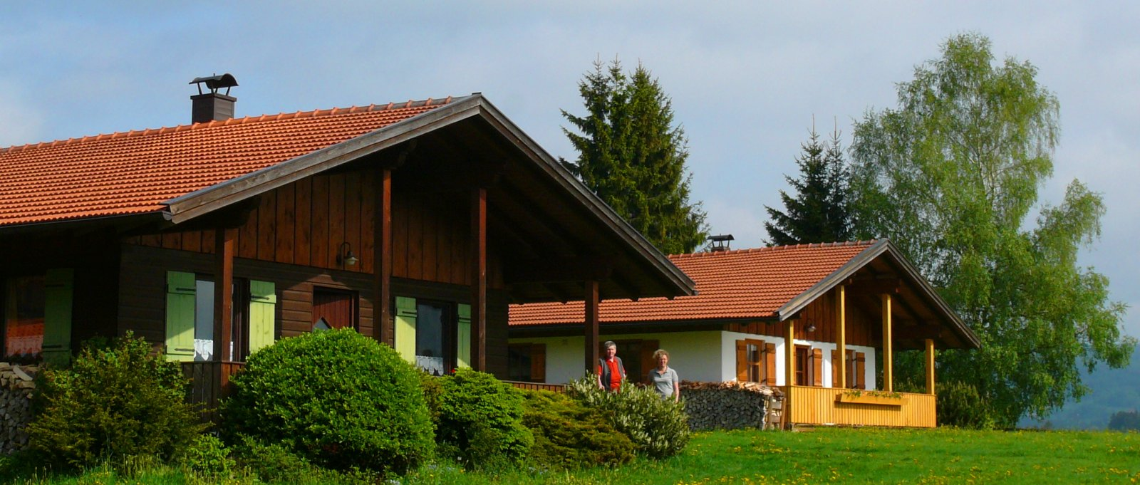 Ferienhütten Hirschhof Meier in Kirchdorf – Kontakt