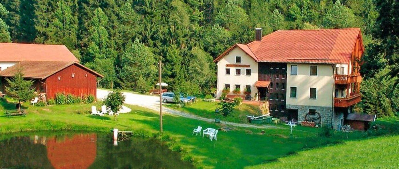 Ferienwohnungen Hubmühle in Wiesenfelden – Kontakt