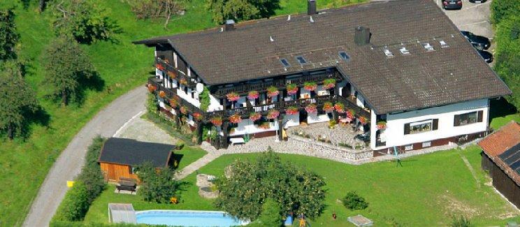 Ferienwohnung mit Swimming Pool Landhaus Jakob Ansicht