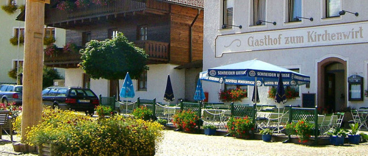 Gasthof zum Kirchenwirt in Lam GasthausLemberger