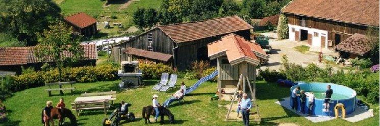 Bauernhof Könighof in Schweinhütt Ansicht