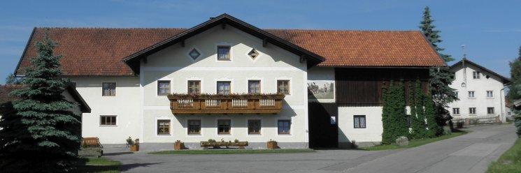 Bauernhof Kopp Bayerischer Wald Hausansicht
