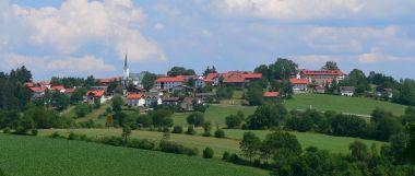 Urlaub im Land Hotel im Bayerischen Wald schöne Aussicht