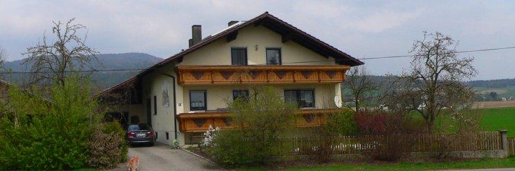 Familien Urlaub mit Hund in Bayern Unterkunft Ansicht