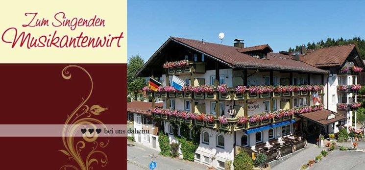 Hotel für Busreisen nach Bayern Musikantenwirt in Schweinhütt