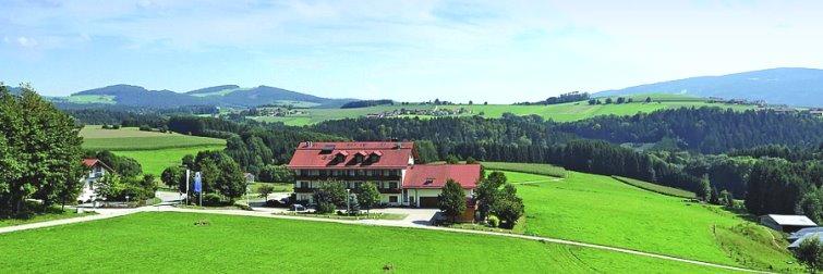 Landhotel Obermüller in Untergriesbach Ansicht