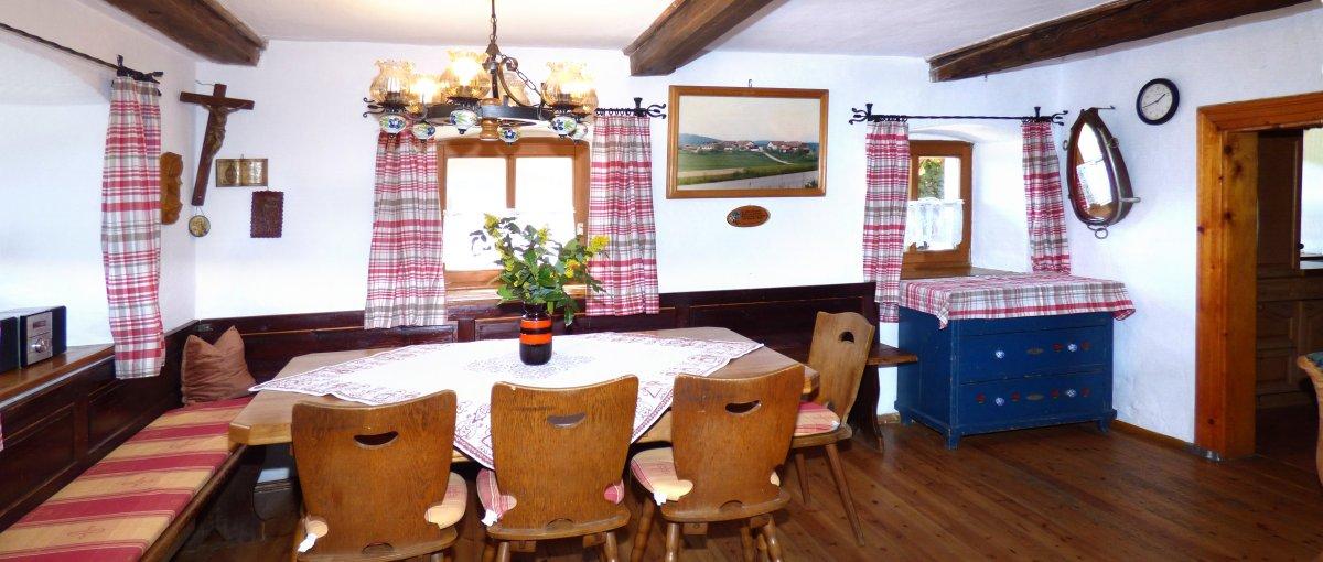 Uriges Land Ferienhaus für Gruppen & Familienfreizeiten in Bayern