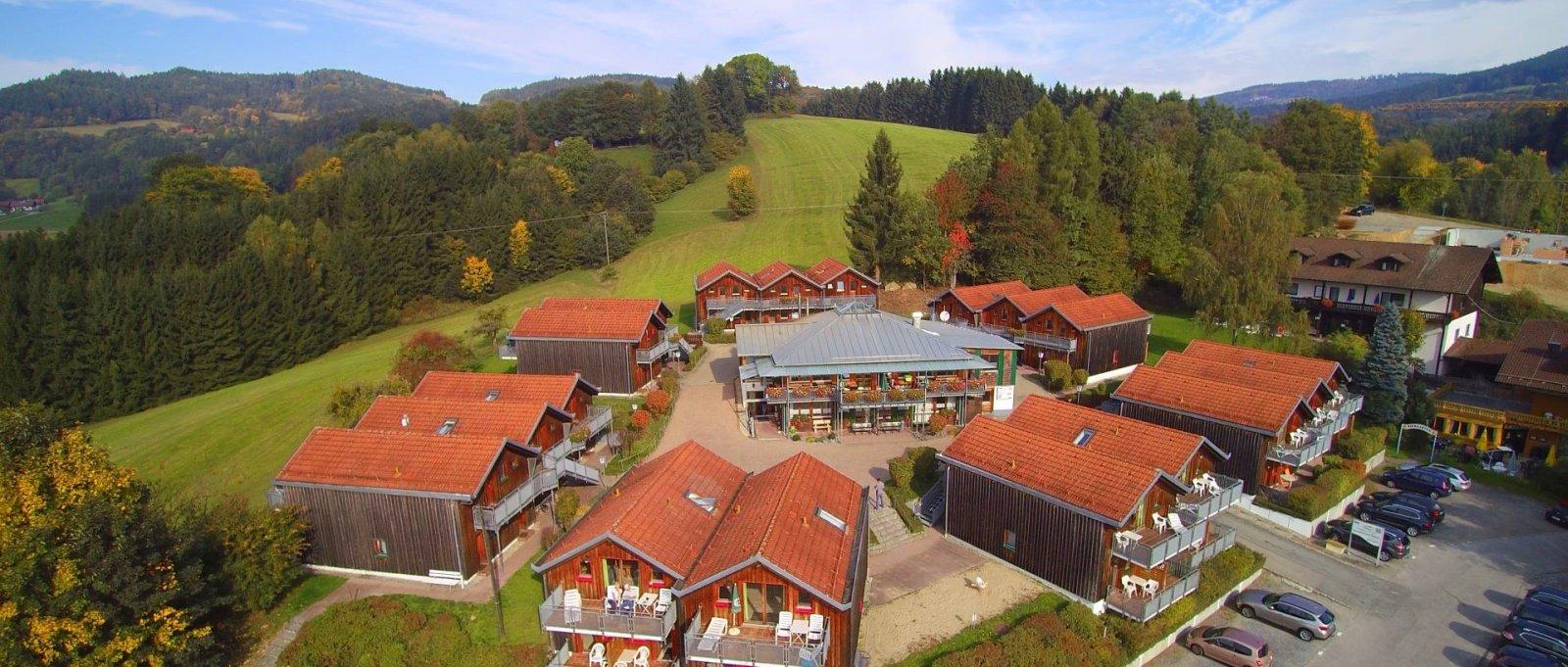 Familienurlaub im Hotel mit Feriendorf in Pürgl