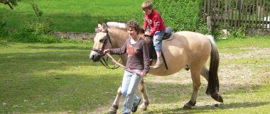Reiturlaub im Bayerischen Wald Reiterferien für Familien mit Kinder