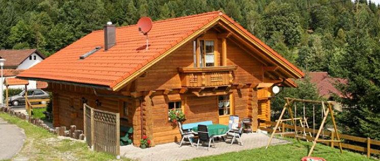 Holz blockhaus Schachtenbach Ferienhaus zur alleinigen Nutzung