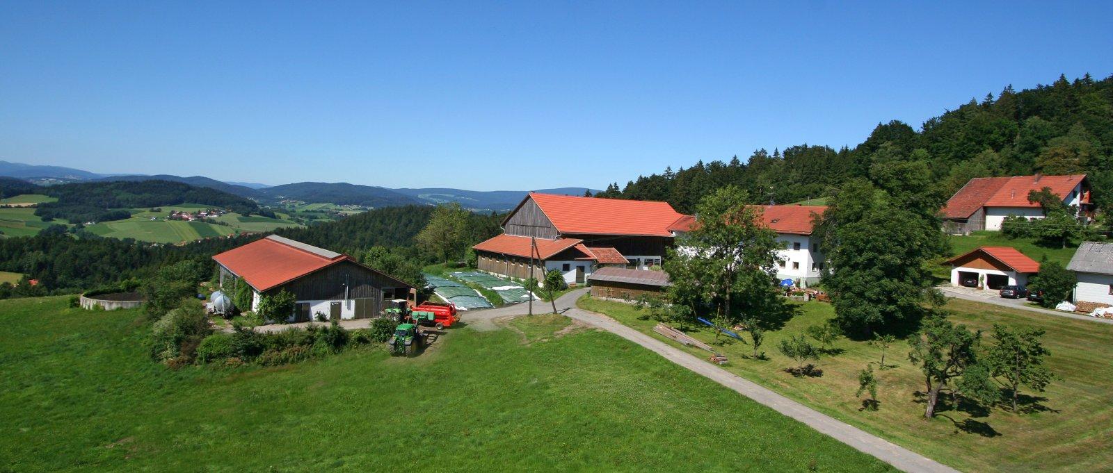 Ferienhof Schätzl Bauernhof mit herrlichem Fernblick
