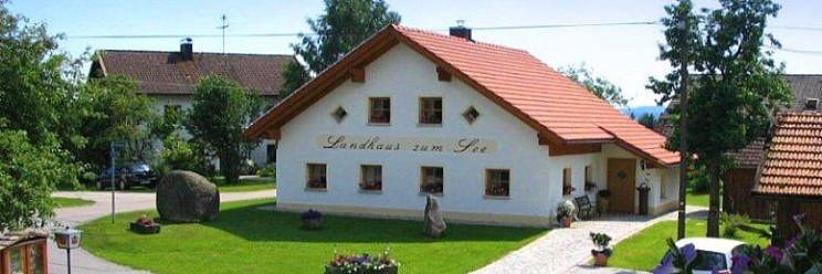 Urlaub in Bayern Reiterhof Schanzer Ferienhaus Ansicht