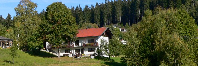 Privatpension Bayerischer Wald in Lindberg Hausansicht