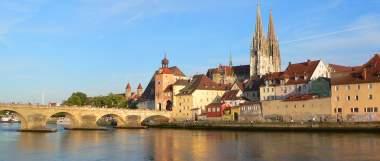 Sight Seeing in Bayern Römerstadt Regensburg besichtigen
