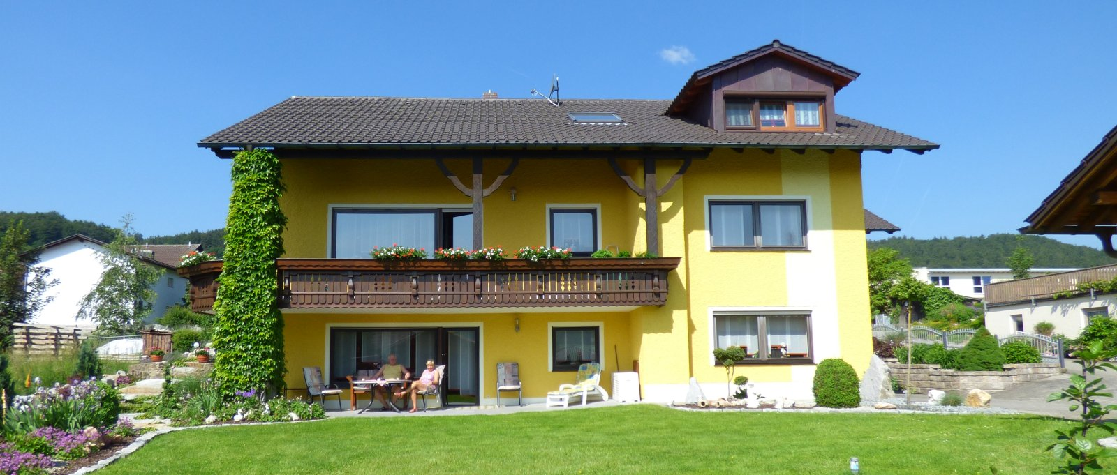 Landhaus Simon Gleißenberg Urlaub nahe dem Perlsee