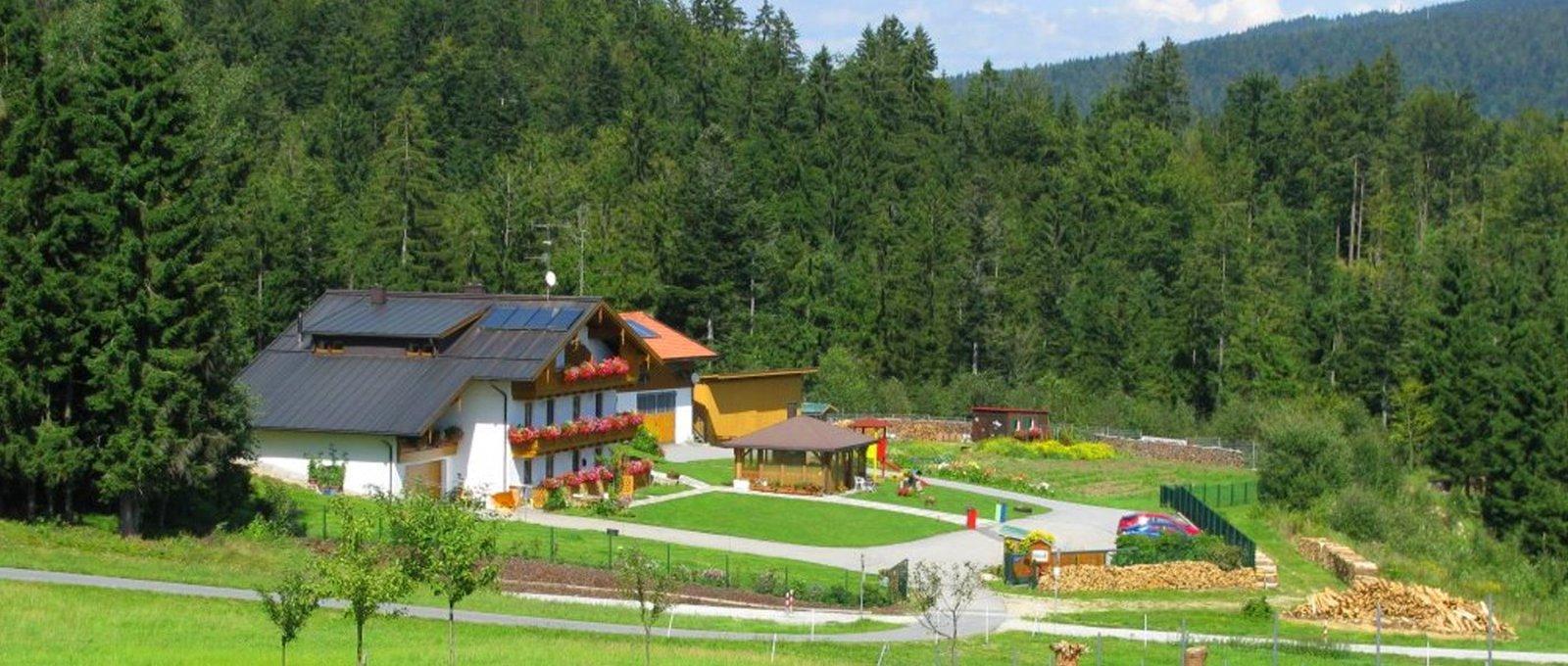Dreiländereck Bayerischer Wald Karte.Ferienwohnungen Haus Spannbauer In Altreichenau Adresse Familie