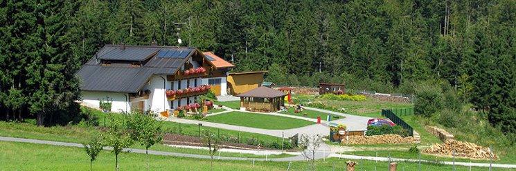 Ferienwohnung im Dreiländereck Bayern Hausansicht