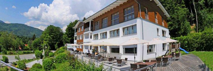 Bayern Wellnesshotel für junge Leute & Pärchen Ansicht