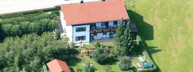 Ferienwohnung Vogl in Arnschwang Luftaufnahme
