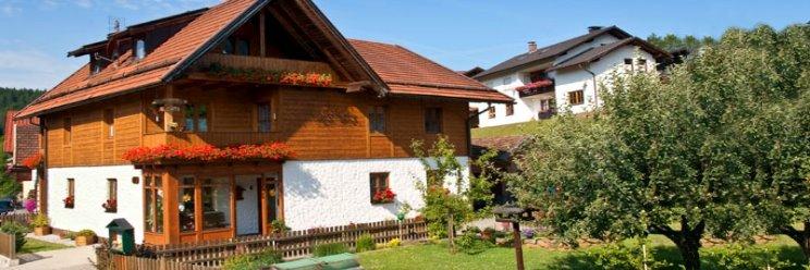 Ansicht vom Haus der Ferienwohnung Weiherwiesel Stern Rita