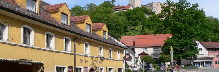 Gasthof zur Post in Falkenstein Pension Zimmerer Anischt